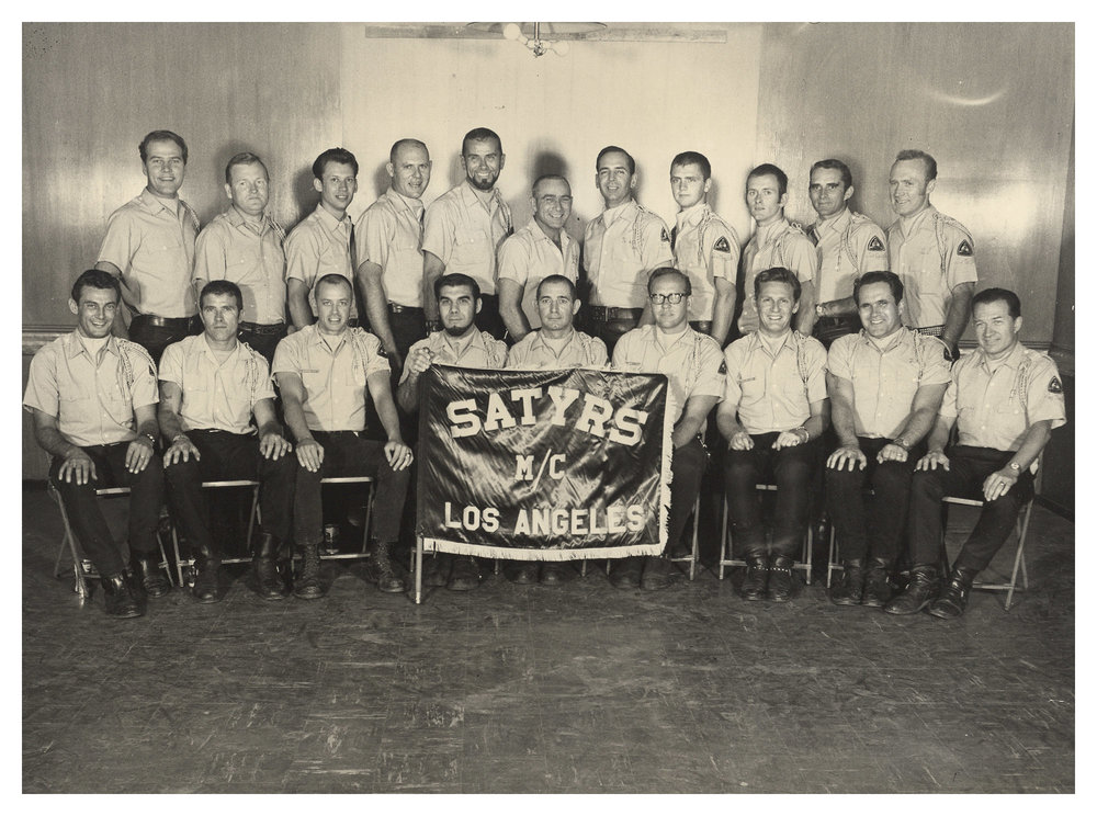 Una de las primeras imágenes de los Satyrs MC