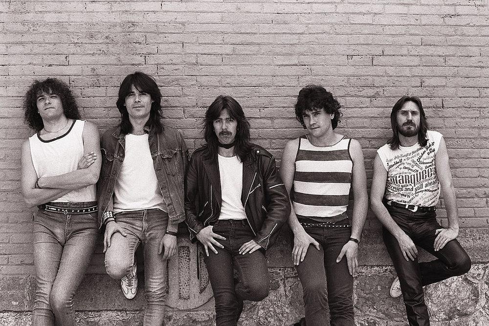 Bruque (de izquierda a derecha): Domingo Gallardo, Antonio Gómez, Albert Arias, Toni Larrosa y Pedro Bruque