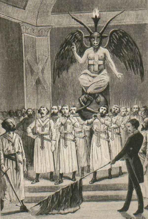 El diablo y los masones según Léo Taxil