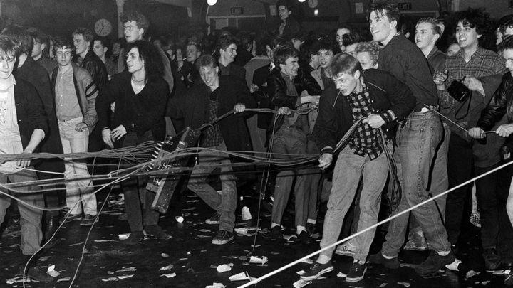 Incidentes durante el concierto de The Jesus and Mary Chain en el North London Polytechnic (15 de marzo de 1985)
