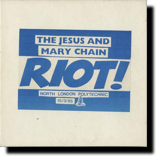 El disco con la grabación del violento show en el North London Polytechnic (15 de marzo de 1985)