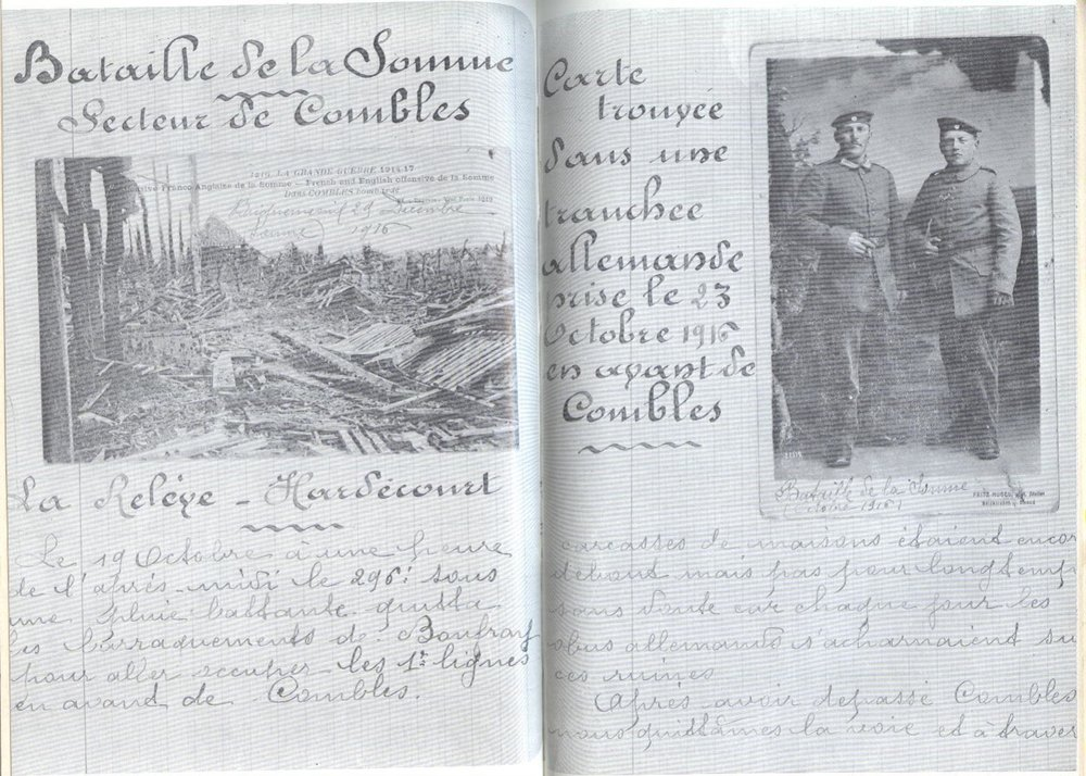 Cuadernos y manuscritos de Barthas