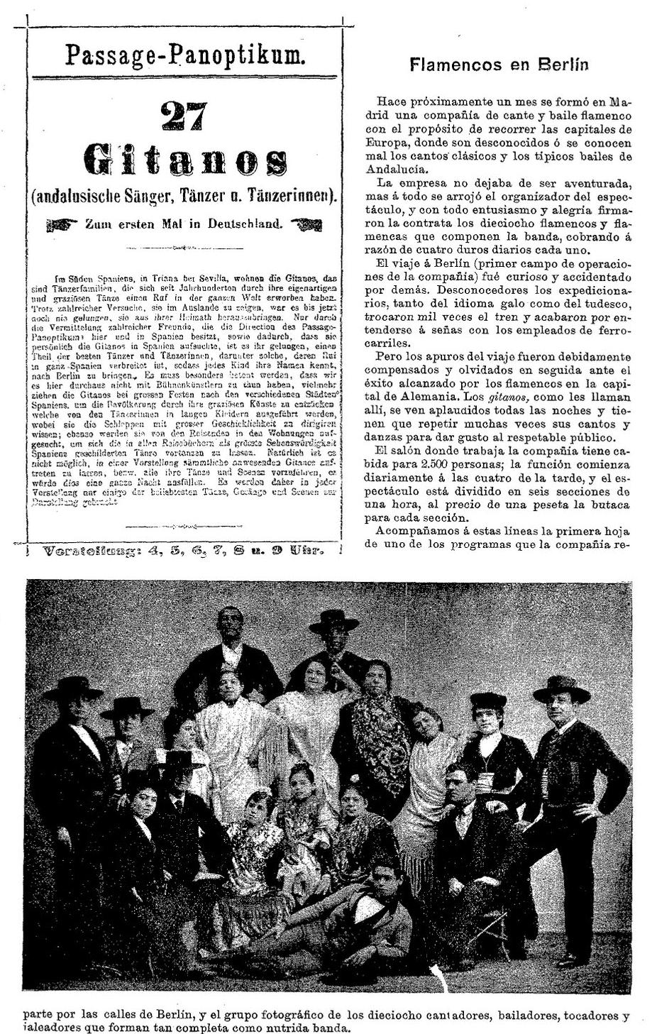 La noticia en  Blanco y Negro  (4 de mayo de 1895)