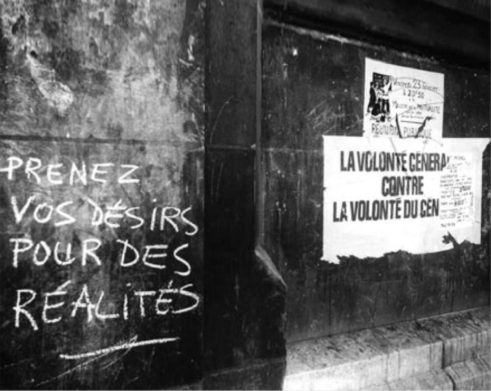Pintadas y carteles situacionistas (París, mayo de 1968)