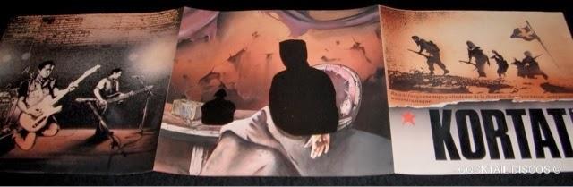 Cubierta del disco  El Estado de las Cosas . En la contraportada puede verse la imagen recortada de el rey