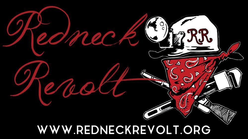 Logo y web de Redneck Revolt