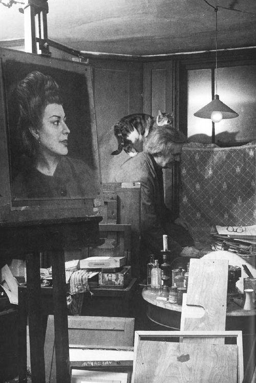 El estudio de Osman Spare