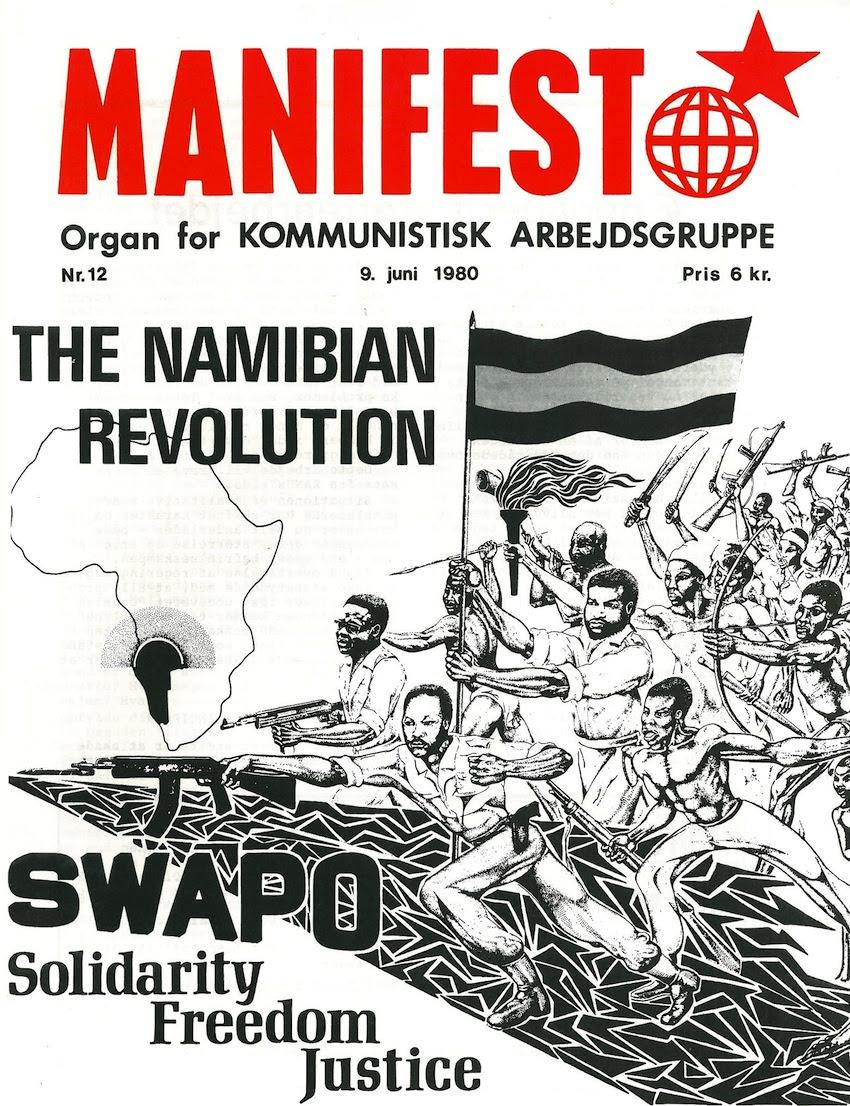 Ejemplar del periódico perteneciente a Manifest Komunistisk Arbejdskreds