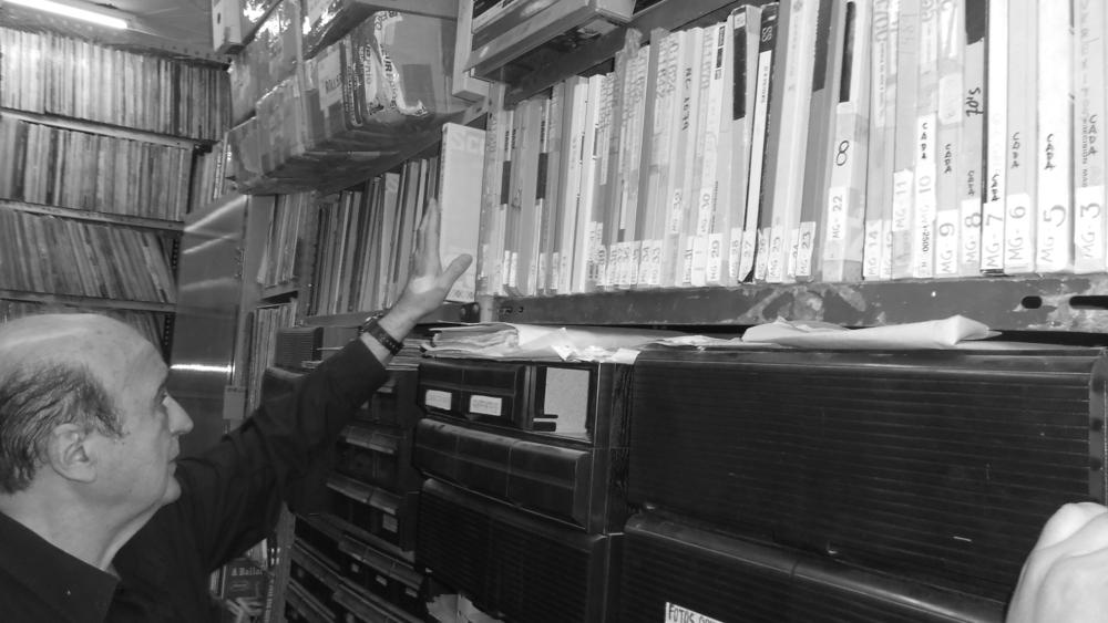 José Luis y su colección de masters