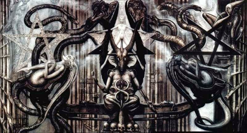 H.R. Giger, The spell IV (1973-1977)