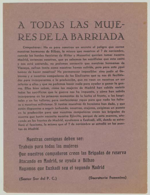 Partido Comunista de España. Secretaría General (1936-1939)