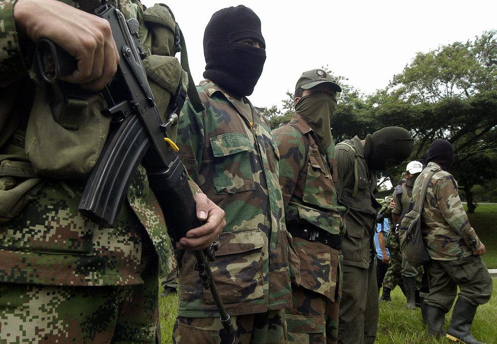 Guerrilleros de las FARC. Fotografía de la Agencia EFE