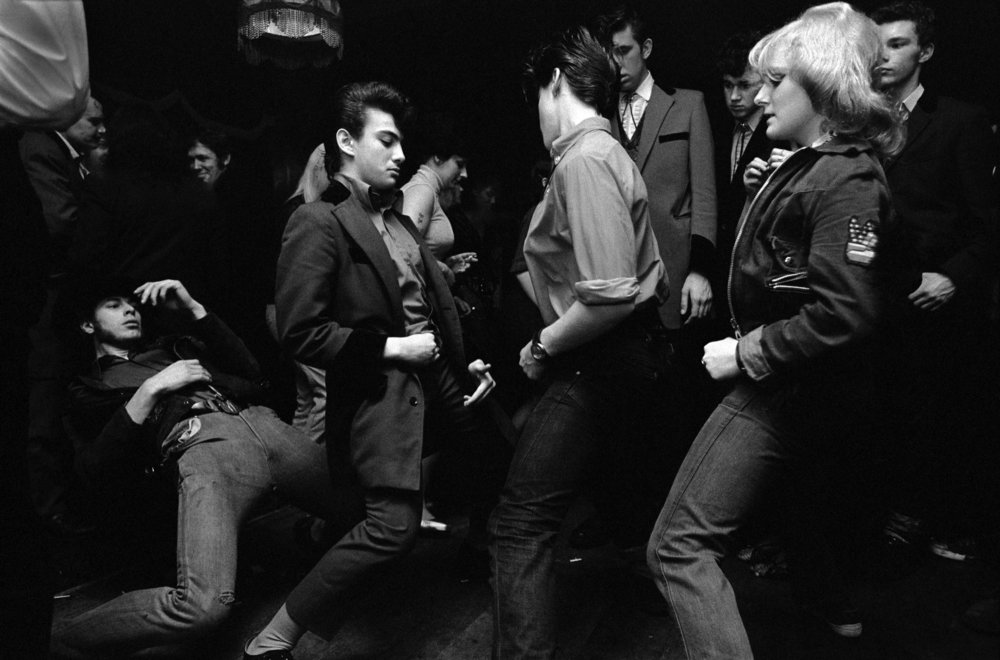 Teddy boys en Londres (1976). Fotografía: Chris Steele-Perkins