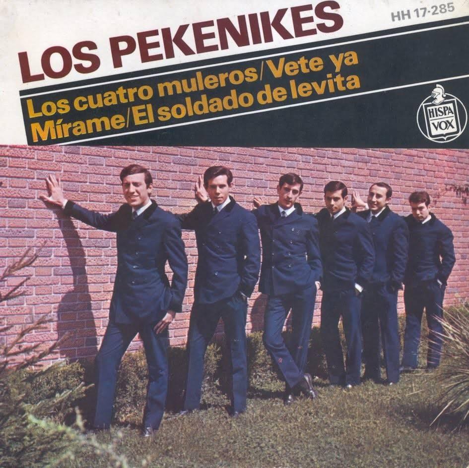 Los Pekenikes y su famoso single «Los cuatro muleros»