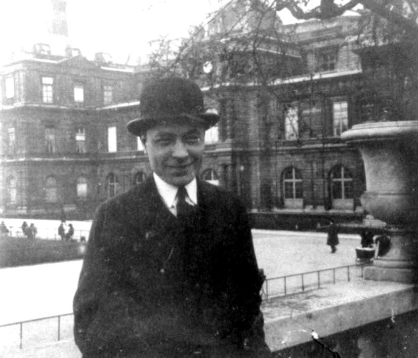 Josep Pla en París en 1919