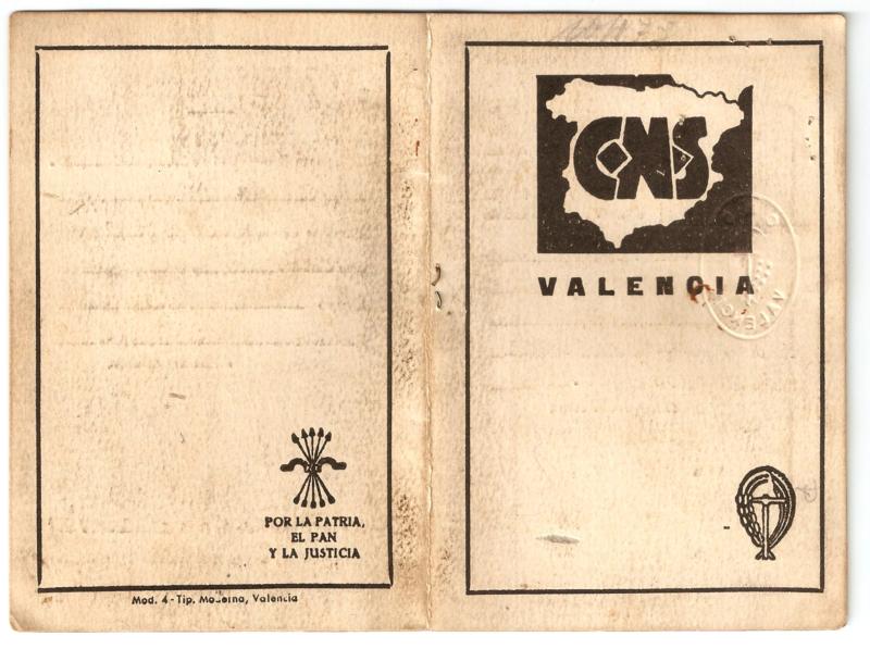 Carnet del CONS (1939)