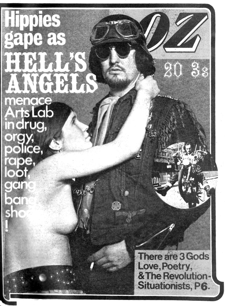Hells Angels, hippies y situacionistas en OZ