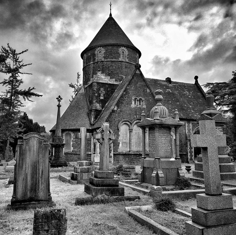 El cementerio de St. Woolos, donde Strummer trabajó como sepulturero. Fotografías: Otis Gibbs