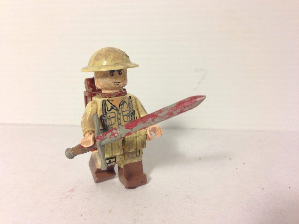 Figura en miniatura de Jack y su espada
