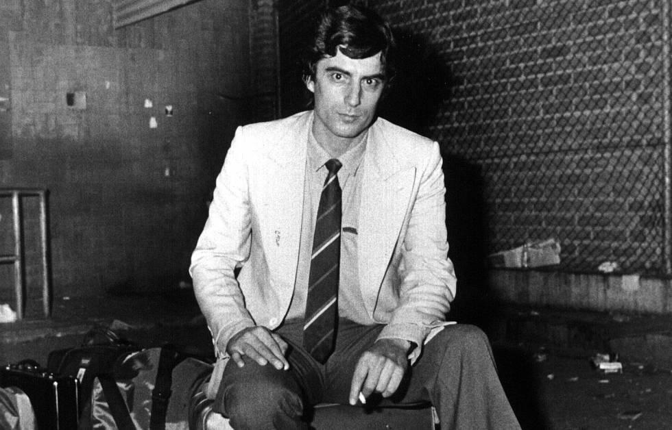 El pederasta Eduardo González Arenas, «Eddie», líder de la secta Edelweiss, en 1987. Fotografía: Miguel Gener