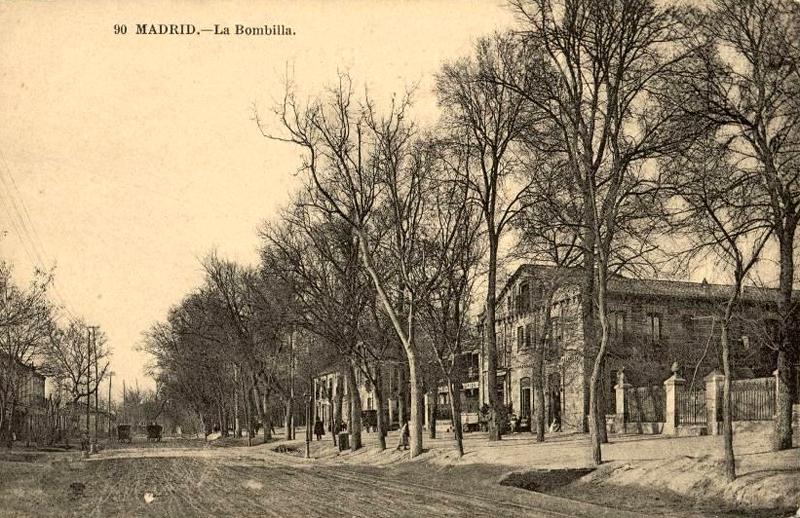 Parque de La Bombilla a comienzos de siglo