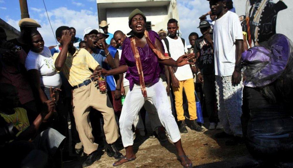 Ceremonia vudú en Haití