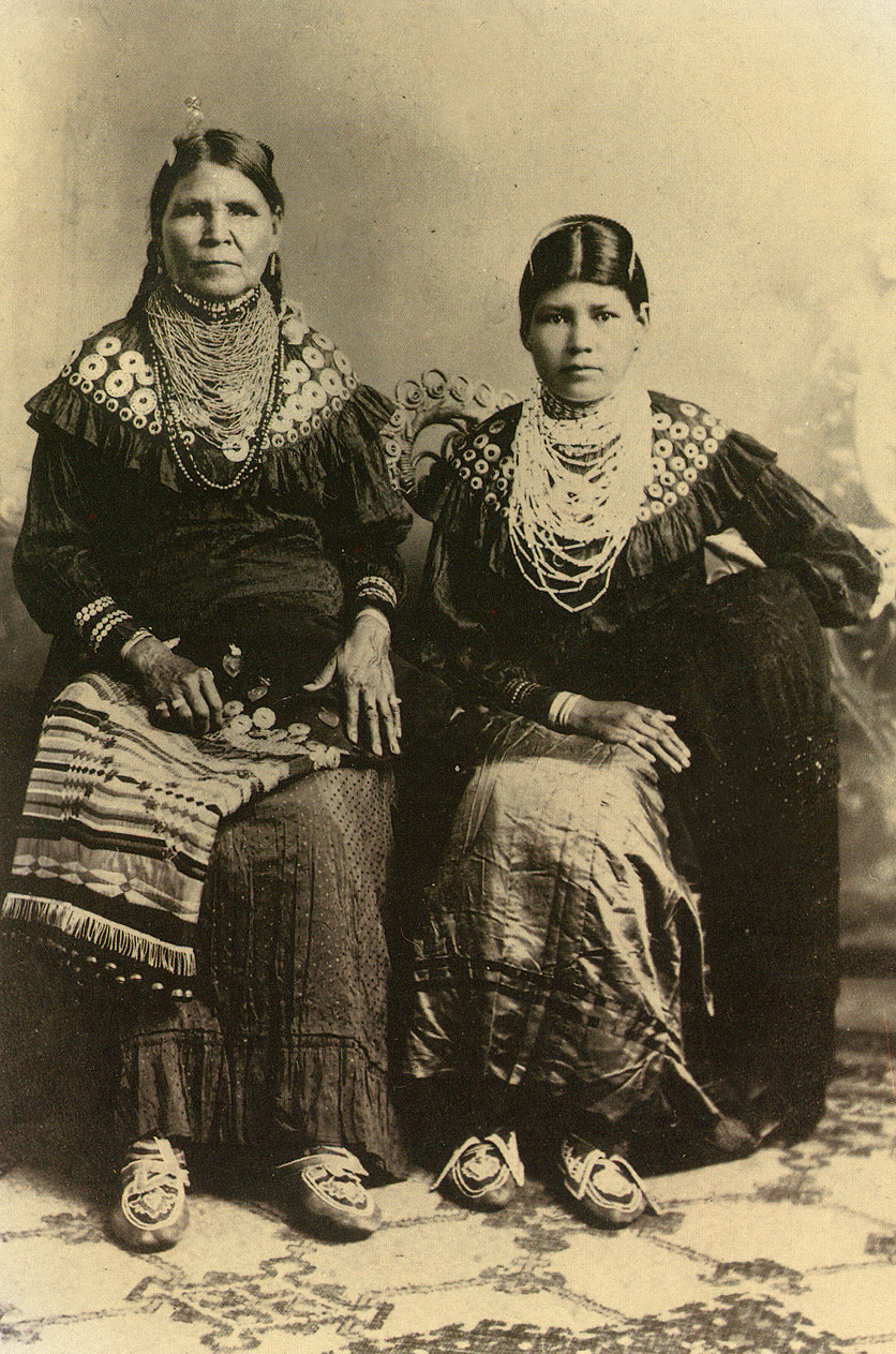 Indias de la tribu Lenape
