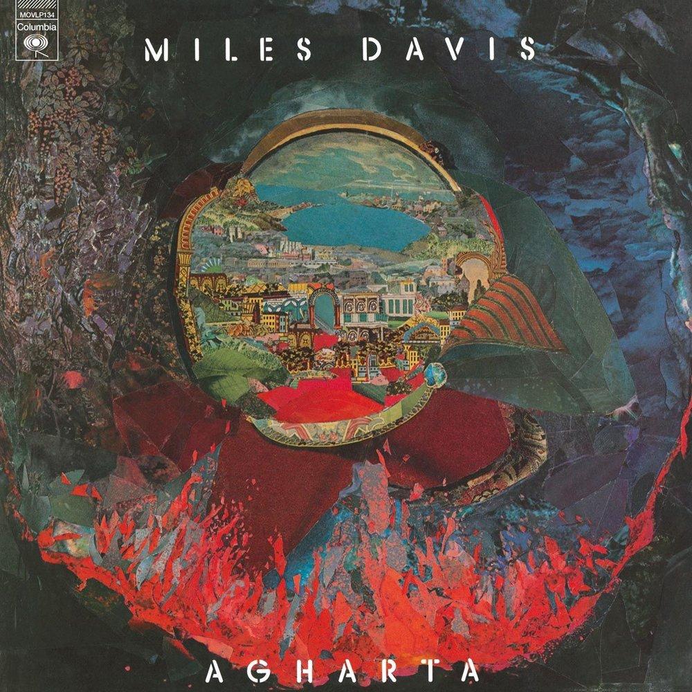 Portada de  Agartha  de Miles Davis