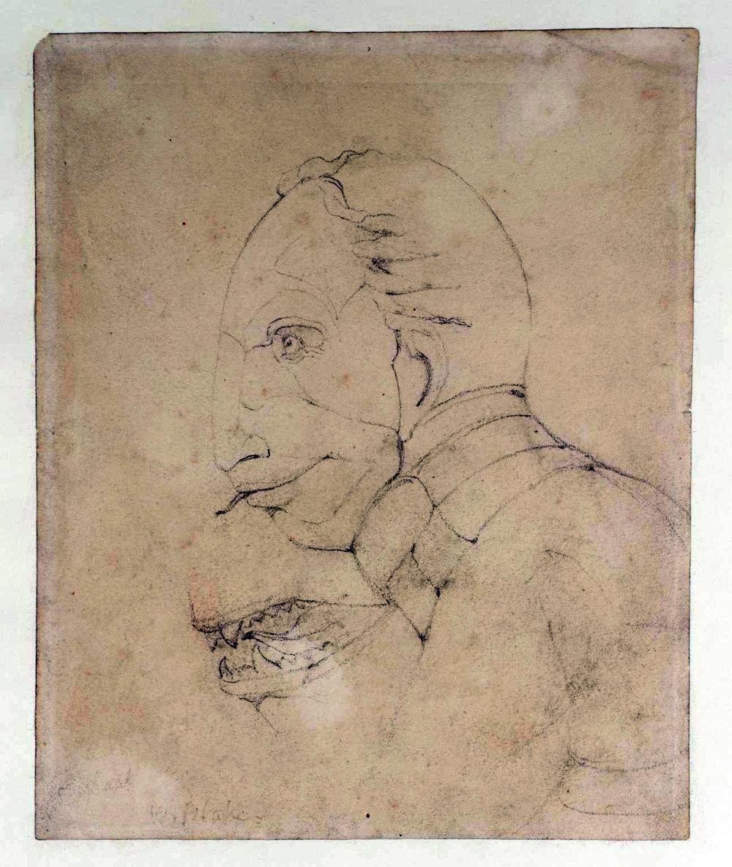 Boceto de  The ghost of flea  de William Blake