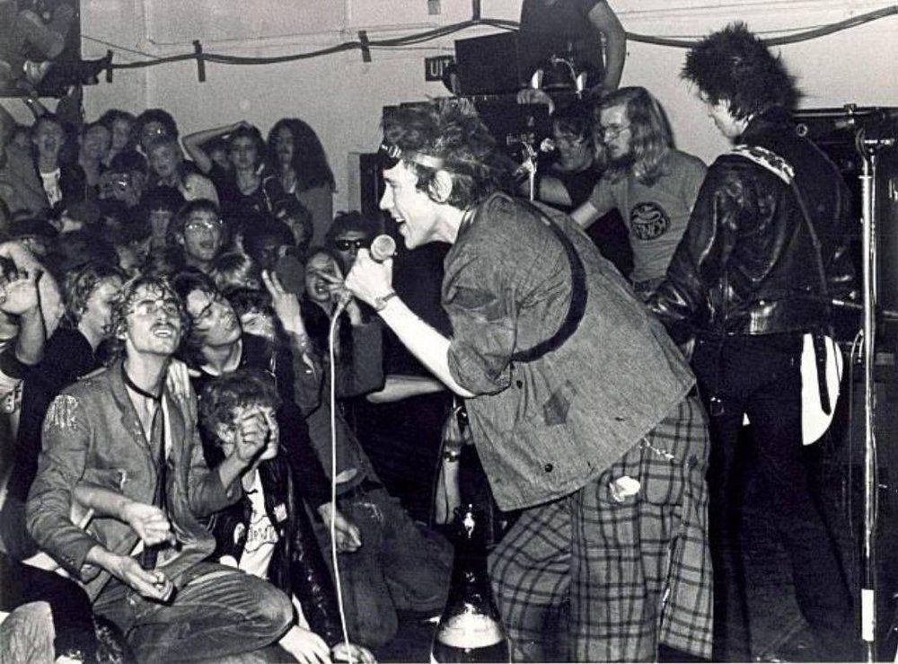 Sex Pistols en el Eksit Club de Rotterdam
