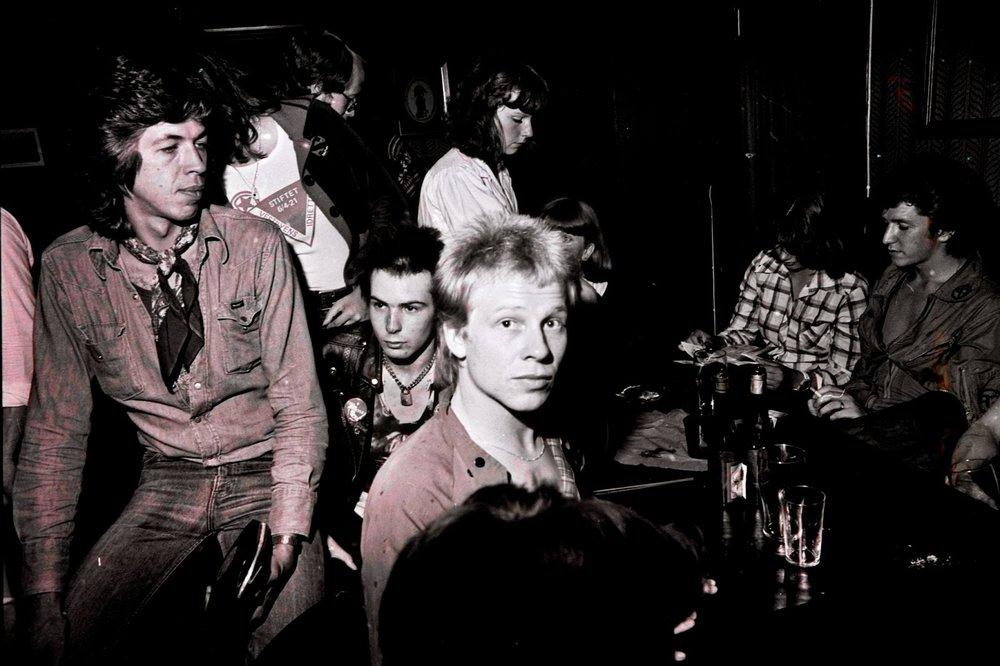 La banda tras su show en Trondheim