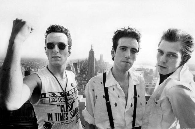 The Clash fotografiados por Bob Gruen