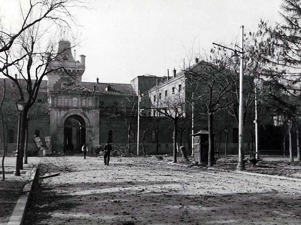 Antigua cárcel de Modelo de Madrid