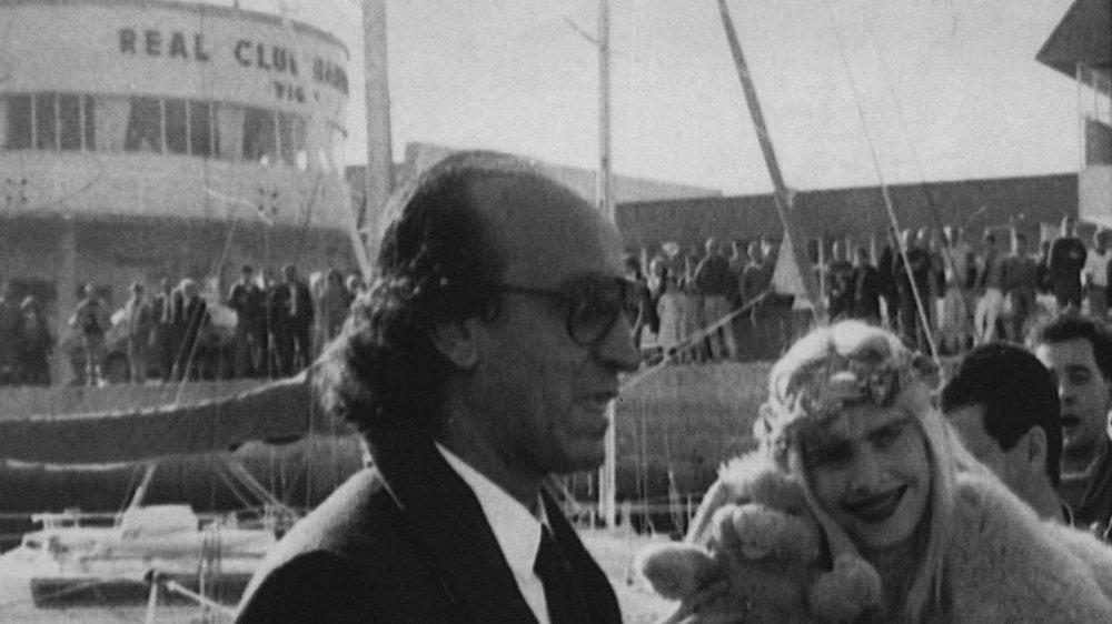 La actriz y diputada italiana durante su visita a Vigo en 1987. Fotografía: Benito /  La Voz de Galicia