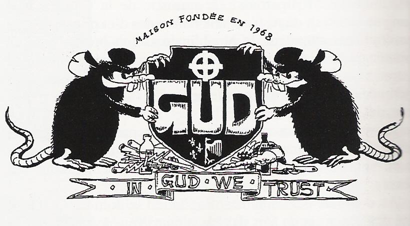 La rata de Macherot desviada por los neonazis franceses del GUD