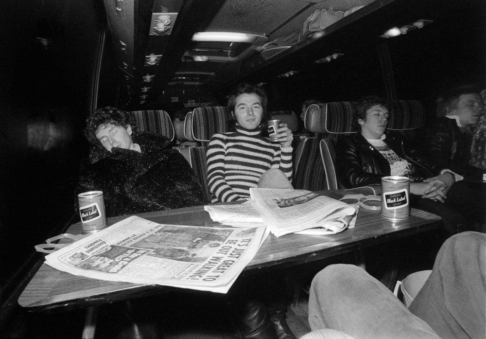 Anarchy Tour bus (Malcolm McLaren y The Sex Pistols)