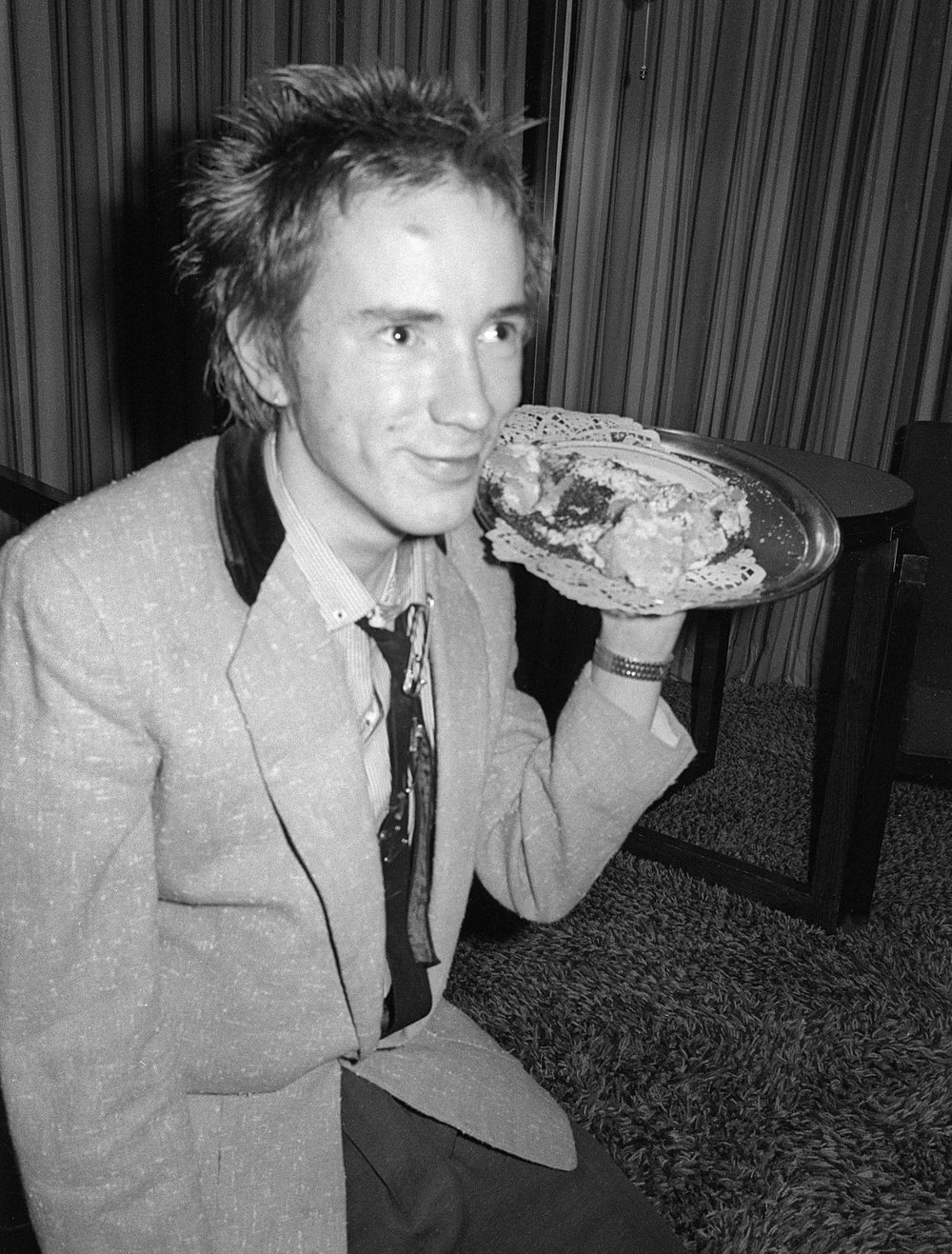 Johnny Rotten. Anarchy Tour.