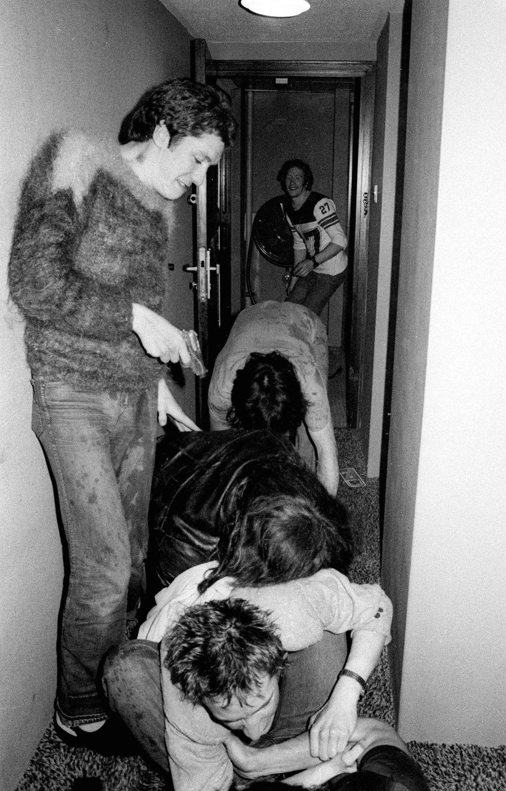 Sex Pistols (Steve Jones y Johnny Rotten) Anarchy Tour.