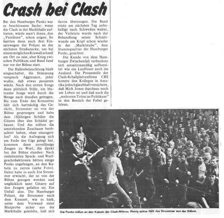 La prensa alemana se hace eco de los incidentes