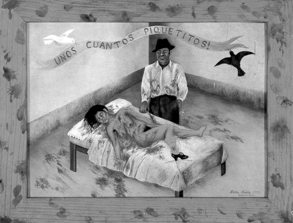 Unos cuantos piquetitos , Frida Kahlo (1935)
