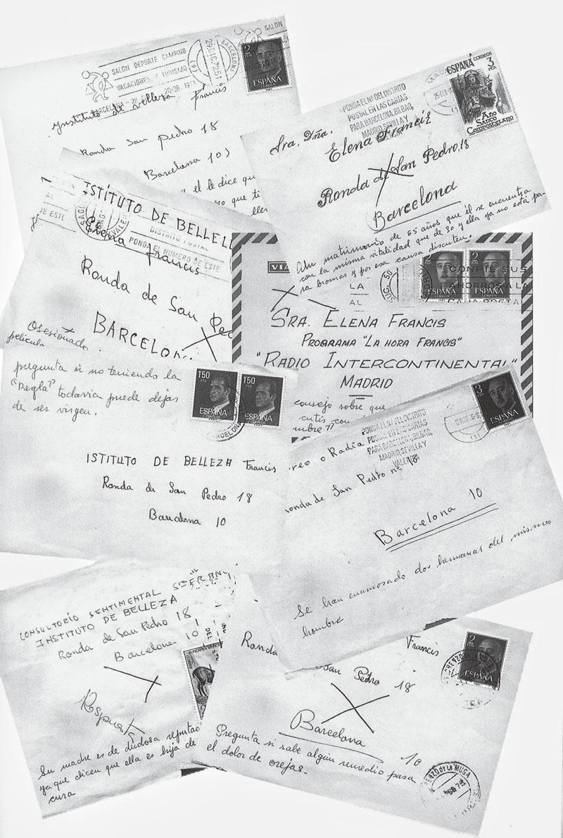 Cartas enviadas a  El Consultorio de Elena Francis