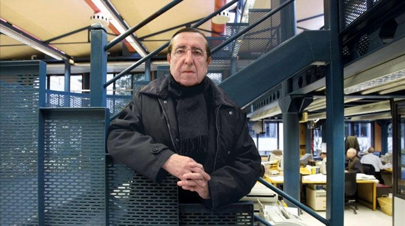 El periodista Juan Soto Viñolo. Fotografía:  XL Semanal