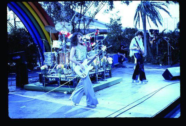 Black Sabbath en el festival California Jam (1974)