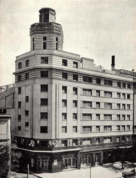 El cine San Carlos a comienzos de los años treinta