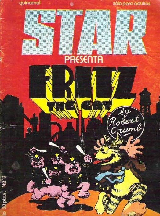 El gato Fritz y los polis «cerdos» (número 13 de  Star )