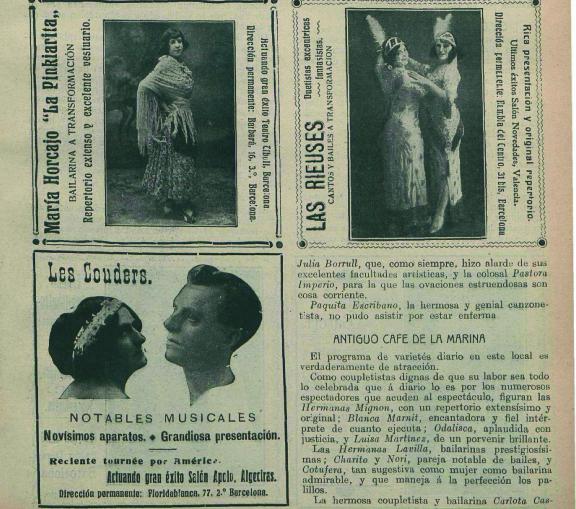 Reseñas y crónicas de los espectáculos ofrecidos en el cine Bello ( Eco artístico , 25 de julio de 1913)