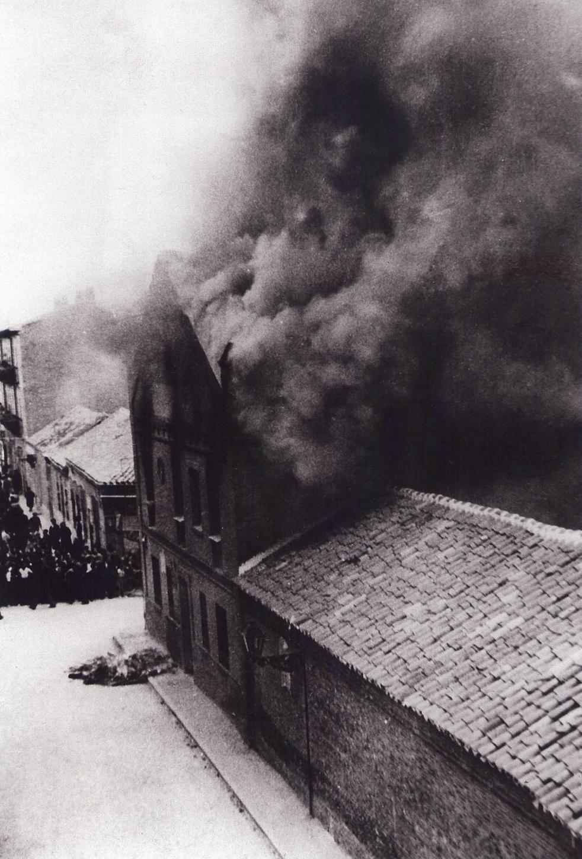 Incendio de la iglesia de Los Ángeles, mayo de 1936
