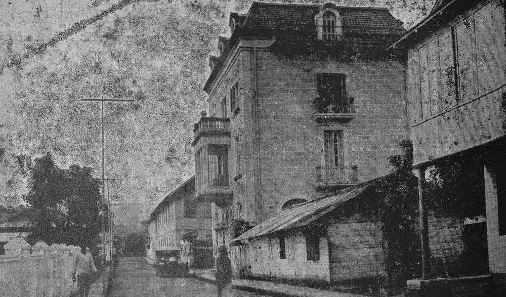 Cuartel general de La Falange en Santa Isabel