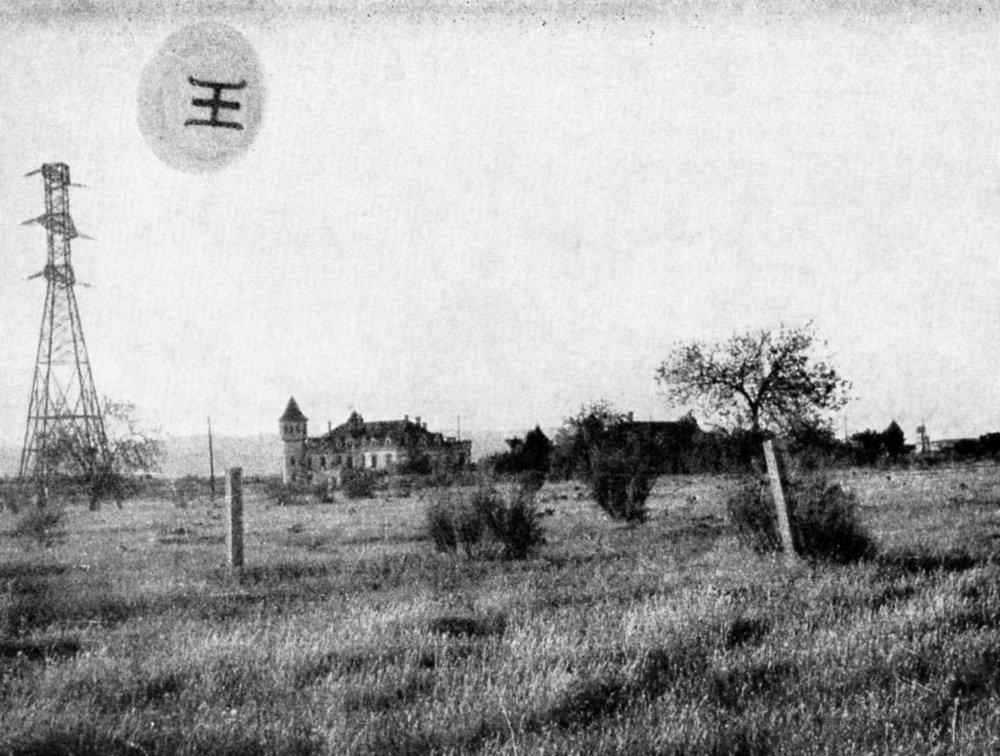 Ovni supuestamente ummita aparecido en San José de Valderas en junio de 1967
