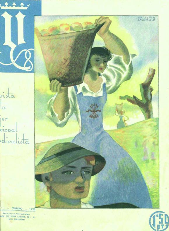Portada del número 1 de  Y  (febrero de 1938)